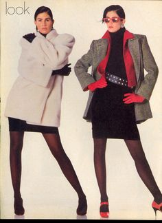 US Vogue July 1985 Dressing Now--a New Base, New Elements, a Whole New Look Photo Paul Lange Models Kim Williams, Suzanne Lanza & Michelle Eabry Hair Oribe Makeup Sophie Levy