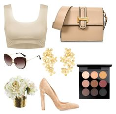 """""""Без названия #911"""" by dianagrigoryan ❤ liked on Polyvore featuring Jimmy Choo, Paper Whites, Pippa Small, Gianvito Rossi and MAC Cosmetics"""