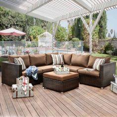 Barcalounger 6 Piece Theater Seating Set Backyard Oasis