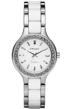 Đồng hồ nữ hàng hiệu White Ceramic and Stainless Steel Bracelet 30mm. Bảo hành:2 năm. Giá bán: 5,591,500 VNĐ. Giá giảm: 4,752,000 VNĐ