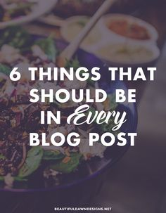 I'll be sharing with you 6 things that should be in every blog post. These 6 things will make your content engaging, helpful, easy to read, and SEO friendly.