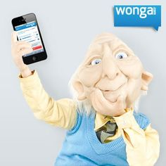 Do you like when things are easy to use? Earl sure does! Visit our mobile website on your smartphone: https://www.wonga.com/ There's no app to download!