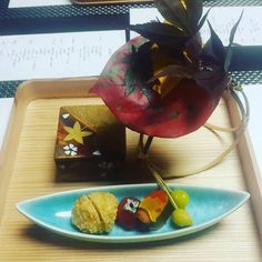 Когда еда - это искусство. #japan #kaiseki #ryokan by arisu_krd