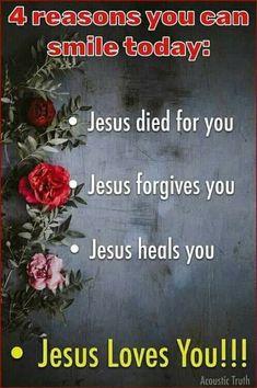 Jesus Forgives, Jesus Heals, Jesus Loves You, Forgiving Yourself, Forgiveness, Inspirational Quotes, Healing, Faith, Christianity
