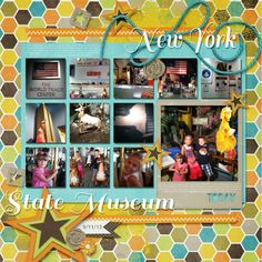 Chelle's Chronicles- New York State Museum layout