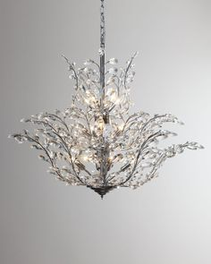Leaf chandelier - don't know why, but I really like this...