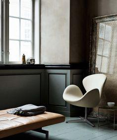 Fritz Hansen Swan lounge stoel - sterkonline.