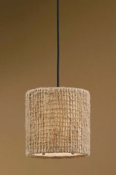 1000 images about drum shades on pinterest drum shade for Burlap lights