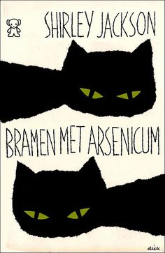 Yearbook cover inspiration. Bold illustration simple plus large narrow hand drawn letters for the title. You could do tracings or silhouettes or kids hands instead of the cats. Notice how they bleed off the page. I like!  Dick Bruna