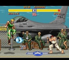 Street Fighter II - No words can describe how great it was to play SFII on my SNES when it came out! £64 worth of gaming perfection!