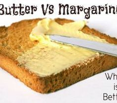 Which Is Better – Margarine Or Butter?   ifood.tv