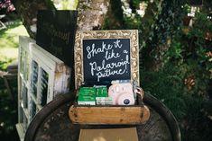 Guest Book Polaroid Bright Wedding Sally T Photography #GuestBook #Polaroid #Wedding