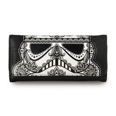 Star Wars Stormtrooper White Applique Wallet - Wallets - Star Wars - Brands