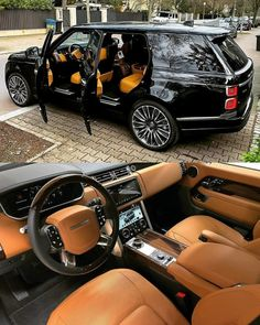 Range Rover Vogue Autobiography LWB 🔥🔥 🔴 Rate this car on a scale . Range Rover Black, Range Rover Sport, Range Rovers, Top Luxury Cars, Luxury Suv, Range Rover Schwarz, Lux Cars, Amazing Cars, Dream Cars