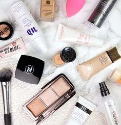 Tips For Preventing Makeup Meltdown In Hot Humid Weather, including skincare tips, application tricks and product recommendations.