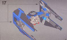 Star Wars Episode 4-6 - TIE Interceptor [Lego 6206]