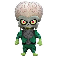 .mars attacks! martian plush: i need him for my desk