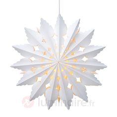 Etoile en papier Bosjön avec motif décoratif 6507426