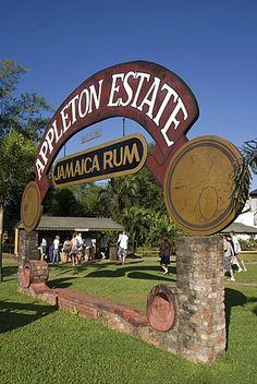 Distrito industrial de Jamaica Appleton Estate Jamaica Ron Santa Isabel