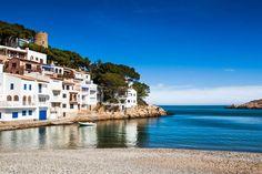 Love this beach, so nice to go there with children! Sa Tuna, Costa Brava, Begur (Espagne)