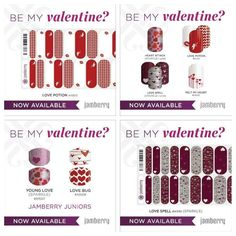 They are here and now available!!! Go to baileym.jamberrynails.net and take advantage of these adorable nail wraps for Valentines Day, St. Patrick's Day, and Easter!! They ARE available for the B3G1 FREE deal! #jamberry #nailwraps #nails #beauty #easter #valentinesday #st.patricks #style #health #color #beauty #style #fashion #women #girl #happiness