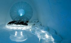 And this here's my ice bed