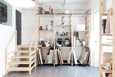 great studio storage (Lotta Agaton: Kristoffer Sundin)