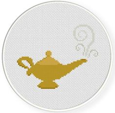 Looking for your next project? You're going to love Magic Lamp Cross Stitch Pattern by designer teamembro3703945. - via @Craftsy