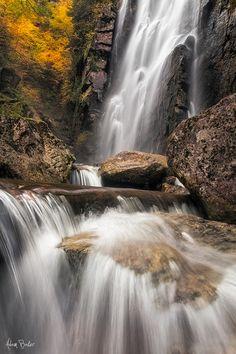 Rainbow Falls, Adirondack Nature Preserve, New York; photo by Adam Baker