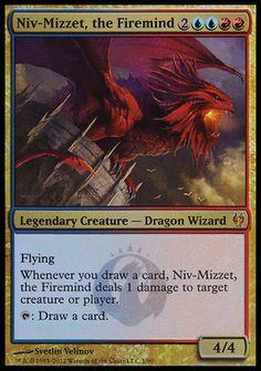 MTG Magic PLA the Firemind x4 Modern Masters 2015 4x Niv-Mizzet NM English