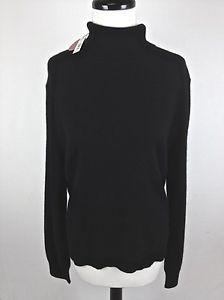 Apt 9 Sweater Cashmere Knit Black Long Sleeve Luxury Turtleneck Womens XL | eBay