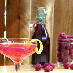 DIY Raspberry Liqueur Recipe