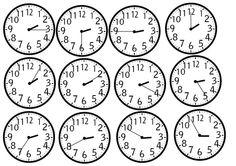 Math Clock, School, Maths, Psychology, Kindergarten, Teacher, English, Child, Ideas