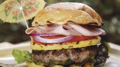 Hawaiian Luau Burger, perfect party food!
