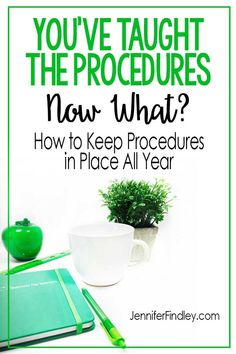 You've Taught the Procedures. - Teaching with Jennifer Findley Teaching Procedures, Classroom Procedures, Classroom Behavior, Classroom Organization, Teaching Ideas, Classroom Ideas, Classroom Routines, Teaching Kindergarten, Teaching Science