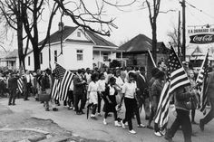 Civil rights march from Selma to Montgomery, Alabama [1965]