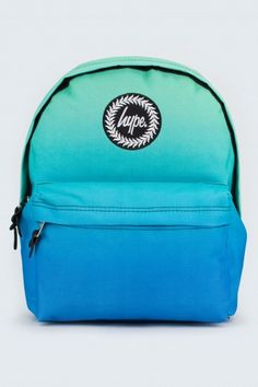 Blue~turqoise ombre backpack from hype