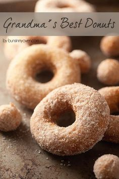 The BEST old fashioned cake donut recipe! donuts, donut recipes, … The BEST old fashioned cake donut recipe! Just Desserts, Delicious Desserts, Yummy Food, Old Fashioned Cake Donut Recipe, Old Fashion Donut Recipe, Doughnut Cake, Cake Donut Recipe Fried, Cake Donut Recipes, Mexican Donuts Recipe