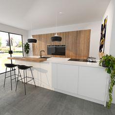 Kitchen Room Design, Best Kitchen Designs, Interior Design Kitchen, Kitchen Decor, Küchen Design, House Design, My Kitchen Rules, Contemporary Kitchen Design, Cuisines Design