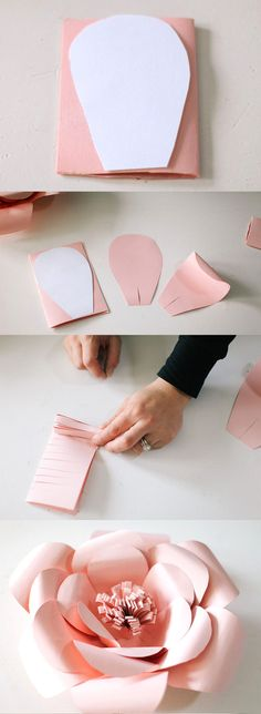 Flower DIY paper, Flower DIY Crafts, Flower DIY Decoration