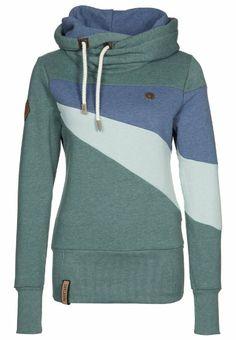 Amazon.com  Naketano Willi II Hoodie Hoody Sweater Damen Womens(Forrest  Melange ba989e8e43