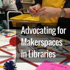 Many school librarians struggle with advocating for makerspaces in their libraries. This post looks at some of the common questions and criticisms. Middle School Libraries, Elementary School Library, Elementary Schools, Primary Education, Library Lessons, Library Books, Library Ideas, Library Skills, Magnet School