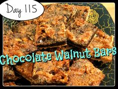 Chocolate Walnut Bars Recipe [DAY 115] ★ watch the video: https://www.youtube.com/watch?v=x78FLI4-ZqU&list=PLGRnDhMJALhH_GXl20Kx5lraCMUd2ltq1&index=1 ★  I'm trying A NEW RECIPE OF Laura in the Kitchen EVERY DAY and sharing its conversion into the metric system, come and join me on my yummy challenge! :)