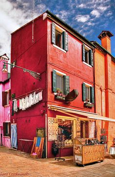 Bead Shop in colorful and quaint, Burano, Italy