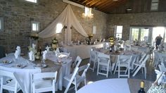 Wedding Rentals Ruthven Park National Historic Site offers a grand setting for your upcoming wedding reception, ceremony, or bridal shower. Situated along the banks of the Canadian Heritage Grand R… Wedding Rentals, Historical Sites, Rustic, Table Decorations, Weddings, Park, Outdoor, Furniture, Home Decor