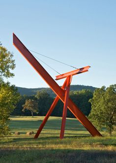 Widely celebrated as one of the world's leading sculpture parks, Storm King Art Center has welcomed visitors from across the globe for fifty years. It is located only one hour north of New York City, in the lower Hudson Valley, where its pristine 500-acre landscape of fields, hills, and woodlands provides the setting for a collection of more than 100 carefully sited sculptures created by some of the most acclaimed artists of our time. http://www.stormking.org/