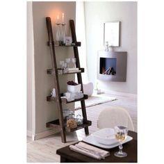 ladder shelf for kitchen wares