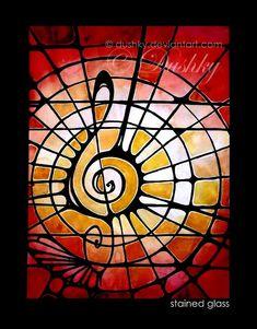 stained glass by dushky.deviantart.com on @deviantART