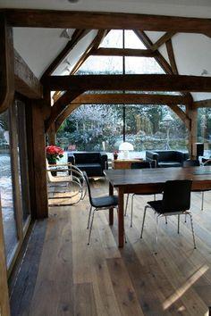 Air Dried Oak Frame Extension