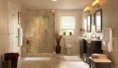 Love a neutral bathroom